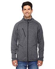 North End 88669 Men Peak Sweater Fleece Jacket at GotApparel