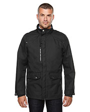 North End 88672 Men Uptown Three-Layer Light Bonded City Textured Soft Shell Jacket at GotApparel