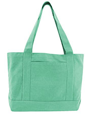 Liberty Bags 8870 Men Seaside Cotton Canvas 12 oz. Pigment-Dyed Boat Tote at GotApparel