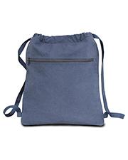 Liberty Bags 8877 Seaside Cotton Pigment Dyed Drawstring Bag at GotApparel