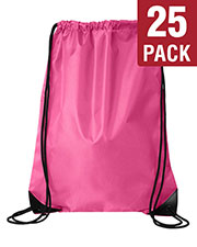 Liberty Bags 8886 Unisex Value Drawstring Backpack 25-Pack at GotApparel