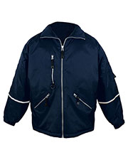 Tri-Mountain 8930 Men Courier Nylon Jacket With Reflective Tape at GotApparel