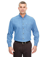 Ultraclub 8960 Men C Adult Cypress Colors Woven With Pocket at GotApparel