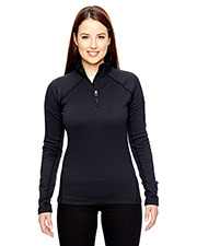 Custom Embroidered Marmot 89610 Women Stretch Fleece Half-Zip at GotApparel