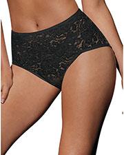 Bali 8L14 Women Lace N Smooth Brief Panties Shapewear at GotApparel
