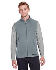 Custom Embroidered Marmot 901077 Men Rocklin Fleece Vest at GotApparel