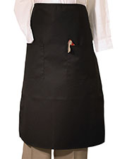 Edwards 9012 Unisex Bistro Apron With Two Pocket at GotApparel
