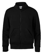 Soffe 9310B Boys Youth Full Zip Mock Neck Sweatshirt at GotApparel
