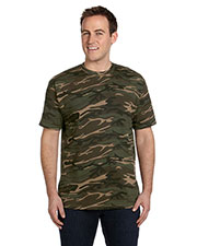Anvil 939 Men Midweight Camouflage T-Shirt at GotApparel