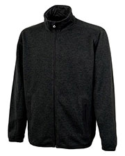 Charles River Apparel 9493 Men Heathered Fleece Jacket at GotApparel