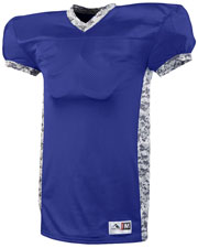 Augusta 9550 Men Dual Threat V-Neck Jersey at GotApparel