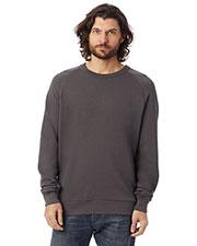 Custom Embroidered Alternative Apparel 9575CT Men French Terry Crewneck Sweatshirt at GotApparel