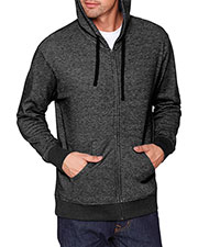 Next Level 9600 Unisex Denim Fleece Full-Zip Hoody at GotApparel
