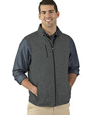 Charles River Apparel 9722 Men Pacific Heathered Vest at GotApparel