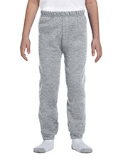 Jerzees 973B Boys 8 Oz. 50/50 Nublend Sweatpants at GotApparel