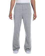 Jerzees 974MP Men 8 Oz. 50/50 Nublend Openbottom Sweatpants at GotApparel