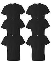 Anvil 980 Men Lightweight T-Shirt 6-Pack at GotApparel