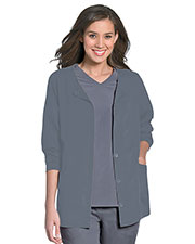 Urbane 9871 Women Button Front Jacket at GotApparel