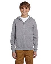 Jerzees 993B Boys 50/50 Nublend Fleece Full-Zip Hoodie at GotApparel