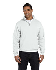 Jerzees 995M Men 8 Oz. 50/50 Nublend Quarter-Zip Cadet Collar Sweatshirt at GotApparel