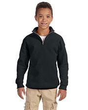Jerzees 995Y Boys 8 Oz. 50/50 Nublend Quarter-Zip Cadet Collar Sweatshirt at GotApparel