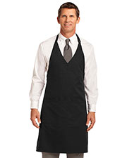 Port Authority A704 Men Easy Care Tuxedo Apron with Stain Release at GotApparel