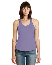 Custom Embroidered Alternative Apparel AA4031 Women 3.66 oz. Shirttail Satin Jersey Tank at GotApparel