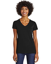 Custom Embroidered Alternative Apparel AA6046 Women 4.3 oz. Runaway Blended Jersey V-Neck Tee at GotApparel