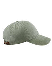 Adams AD969 Unisex 6-Panel Low-Profile Washed Pigment-Dyed Cap at GotApparel