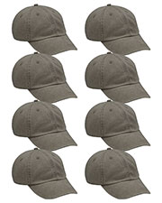 Adams AD969 Unisex Optimum Pigment Dyed-Cap 8-Pack at GotApparel