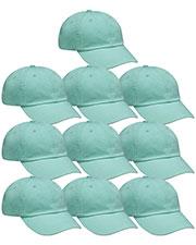 Adams AD969 Unisex Optimum Pigment-Dyed Cap 10-Pack at GotApparel