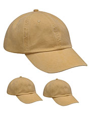Adams AD969 Unisex Optimum Pigment Dyed-Cap 3-Pack at GotApparel