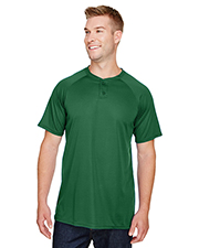 Augusta AG1565 Adult Attain 2-Button Baseball Jersey at GotApparel