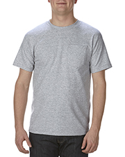 Alstyle AL1305 Adult 6 oz. 100% Cotton Pocket T-Shirt at GotApparel