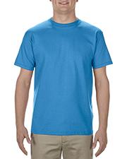 Alstyle AL1701 Adult 5.5 oz. 100% Soft Spun Cotton T-Shirt at GotApparel