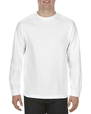 Alstyle AL1904 Adult 5.1 oz. 100% Soft Spun Cotton Long-Sleeve T-Shirt at GotApparel