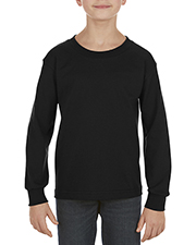 Alstyle AL3384 Youth 6 oz. 100% Cotton Long-Sleeve T-Shirt at GotApparel