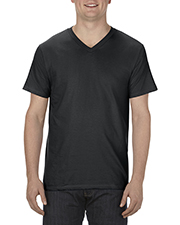 Alstyle AL5300 Adult Ringspun Cotton V-Neck T-Shirt at GotApparel