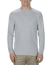 Alstyle AL5304 Adult Ringspun Cotton Long-Sleeve T-Shirt at GotApparel