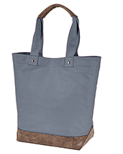 Authentic Pigment AP1921 Canvas Resort Tote at GotApparel
