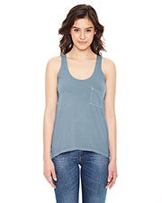 Authentic Pigment AP202W Women Best Summer Pocket Tank at GotApparel