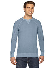 Authentic Pigment AP205 Men French Terry Crew at GotApparel