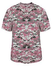 Badger B2180 Boys Youth Short-Sleeve Sublimated Digital Tee at GotApparel