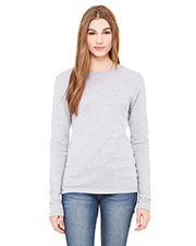 Bella + Canvas B6500 Women Jersey Long-Sleeve T-Shirt at GotApparel