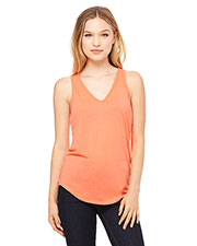 Bella + Canvas B8805 Women Flowy V-Neck Tank at GotApparel