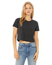 Bella + Canvas B8882 Ladies 3.7 oz Flowy Cropped T-Shirt at GotApparel