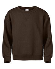 Soffe B9001 Boys Youth Classic Crew Sweatshirt at GotApparel
