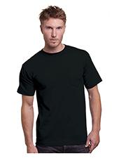 Bayside BA3015 Adult 6.1 oz Cotton Pocket T-Shirt at GotApparel