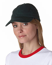 Bayside 3630 Unisex Washed Chino Twill Unstructured Cap at GotApparel