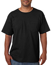 Bayside 5070 Men Short-Sleeve Tee With Pocket at GotApparel